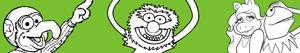 Coloriages Muppet à colorier