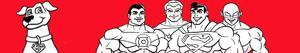Coloriages Super Friends à colorier