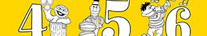 Coloriages Numéros de la Rue Sésame ou Sesame Street à colorier