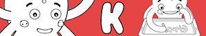 Coloriages Prénoms de Garçon avec K à colorier