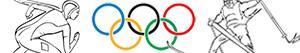 Coloriages Jeux olympiques d'hiver à colorier